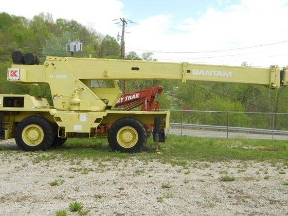 1988 BANTAM S688A All-terrain cranes