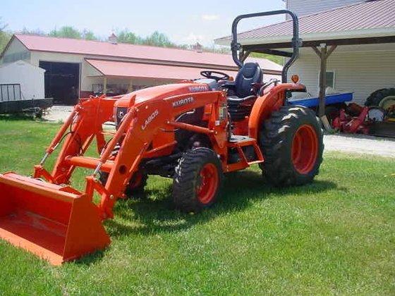 2014 KUBOTA L3560 Compact tractors