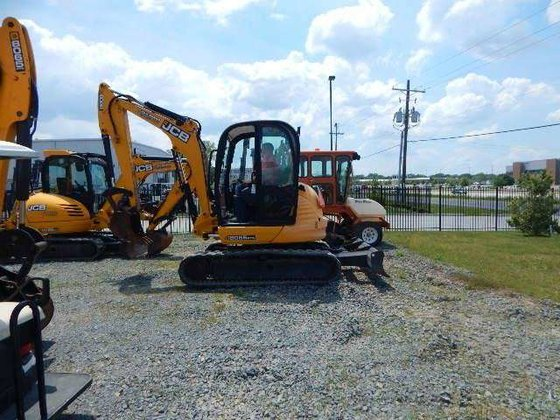 2011 Jcb 8055 Excavators in