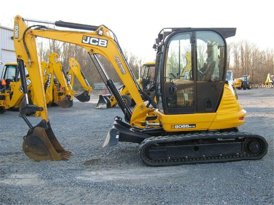 2012 Jcb 8065ZTS Mini excavators