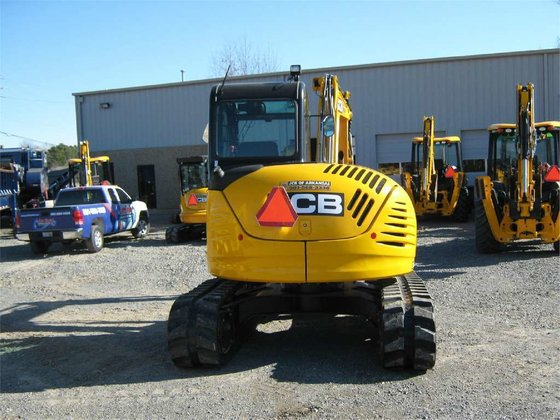 2012 Jcb 8085ZTS Excavators in