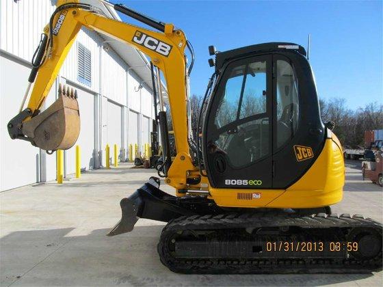 2012 Jcb 8085ZTS Mini excavators