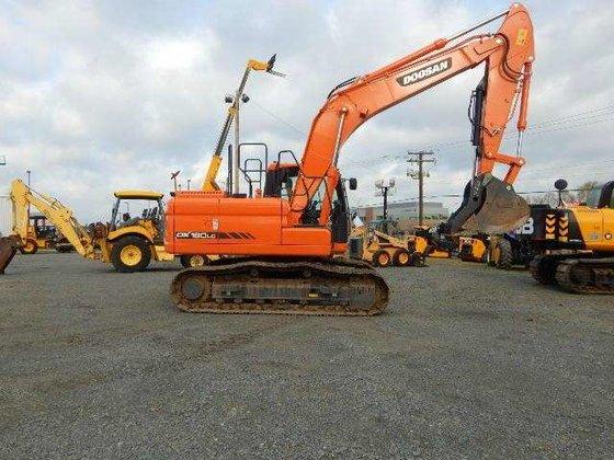 2014 Doosan DX180LC-3 Excavators in