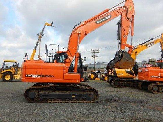 2014 Doosan DX180LC-3 Excavators in