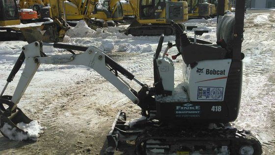 2014 Bobcat 418 Excavators in