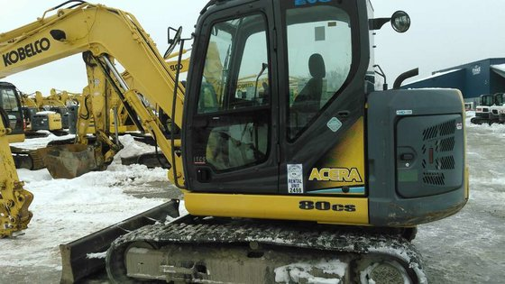 2011 Kobelco 80CS Acera Excavators