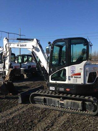 2014 Bobcat E63 Excavators in