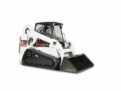 2012 Bobcat T190 Compact track