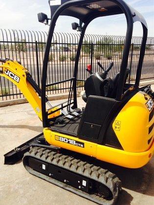 2013 Jcb 8018CTS Mini excavators