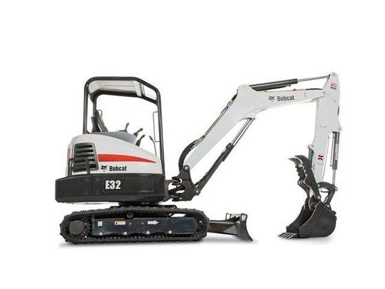 2015 Bobcat E32 T4 Excavators
