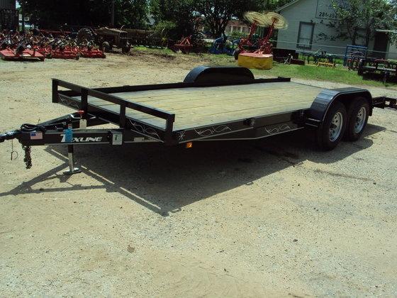 TEXLINE 18' tandem axle bumper