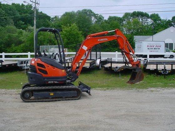 2011 KUBOTA U25 Mini excavators