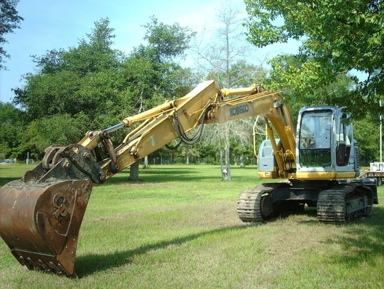 2005 KOBELCO ED150-1E Excavators in