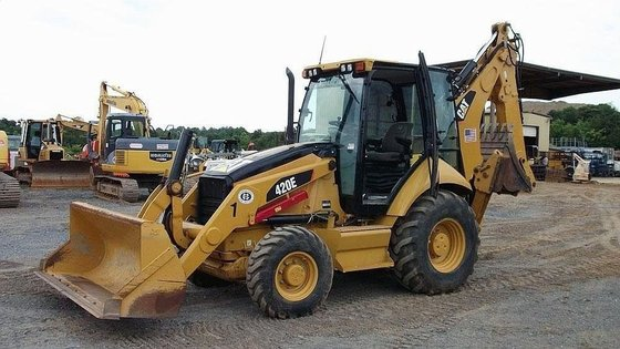 2008 CATERPILLAR 420E Backhoe loader
