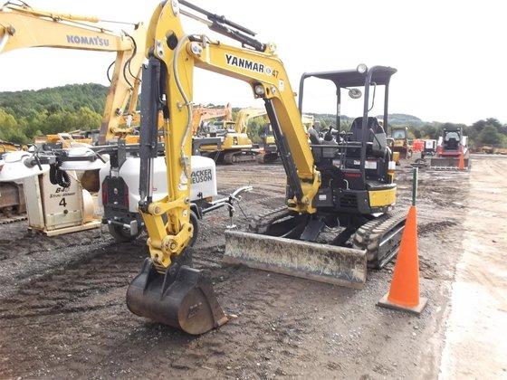 2014 YANMAR VIO35-6A Excavators in