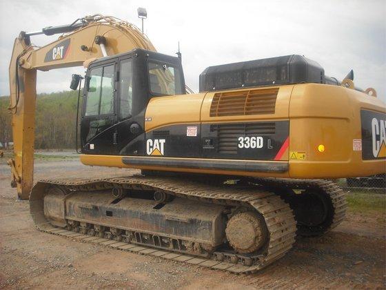 2011 CATERPILLAR 336DL Excavators in