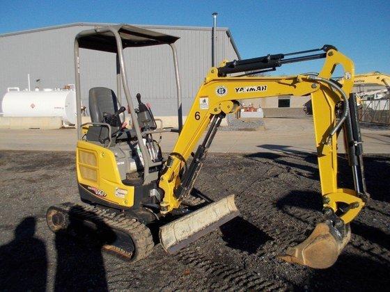 2012 YANMAR VIO17PR Excavators in