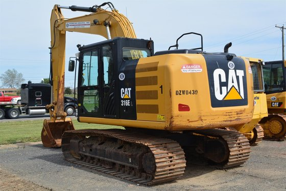 2012 CATERPILLAR 316EL Excavators in