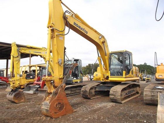 2012 KOMATSU PC160 LC-8 Excavators