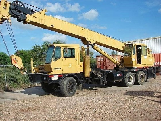 1981 GROVE TMS250 All-terrain cranes