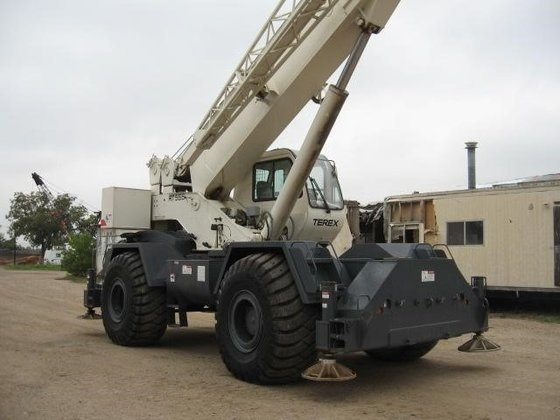 2004 TEREX RT555 Rough terrain