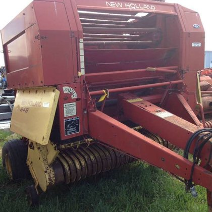 New Holland 848 Hay equipment