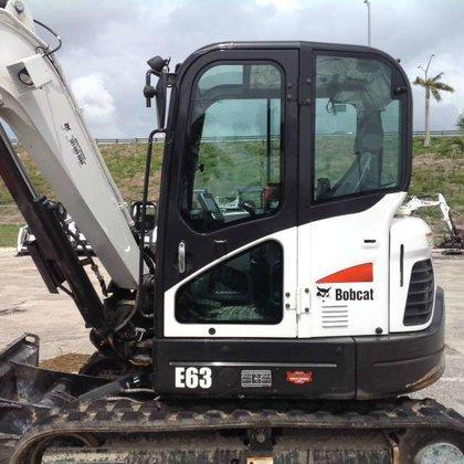 2015 Bobcat E63 T4 Excavators