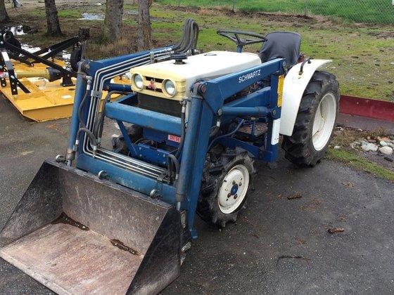 Mitsubishi Compact Tractors : Mitsubishi s d compact tractors in bellingham wa usa