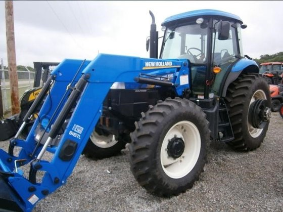 NEW HOLLAND TS6.140 Tractors in