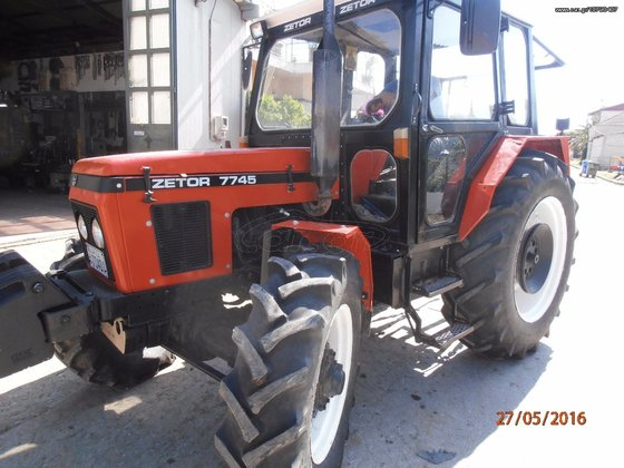 Zetor 7745 90 Tractor Standard In Larissa Greece border=