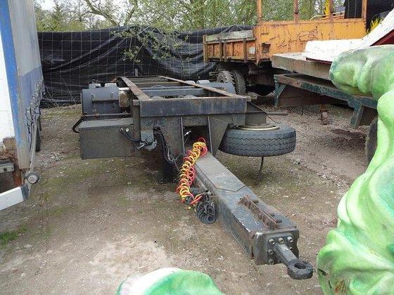 chassis dieplader in Ham, Belgium