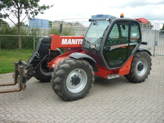 Manitou MLT 741-120 HLSU in