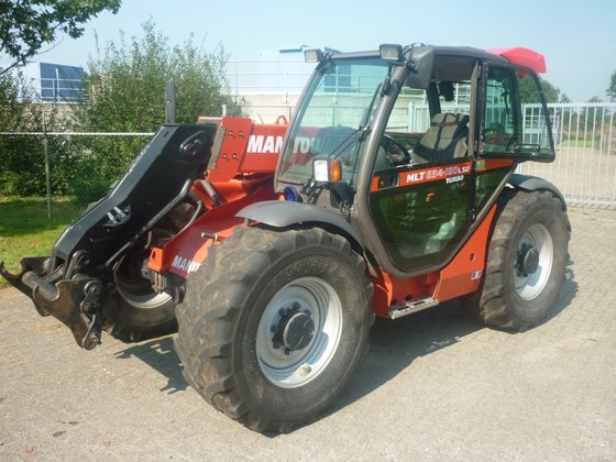 Manitou MLT 634-120 LSU in