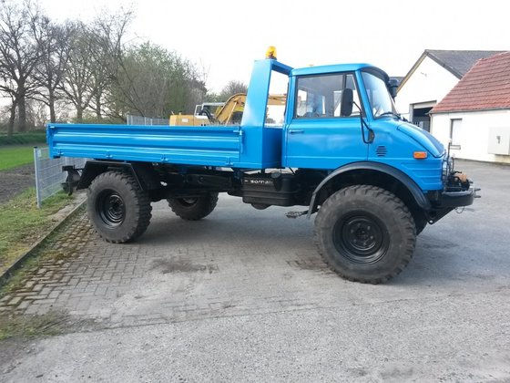 1984 Mercedes-Benz Unimog 416 in