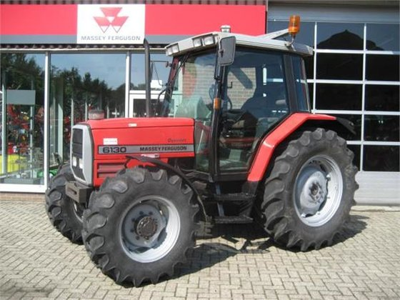 1995 Massey-Ferguson 6130-4wd Dynashift in