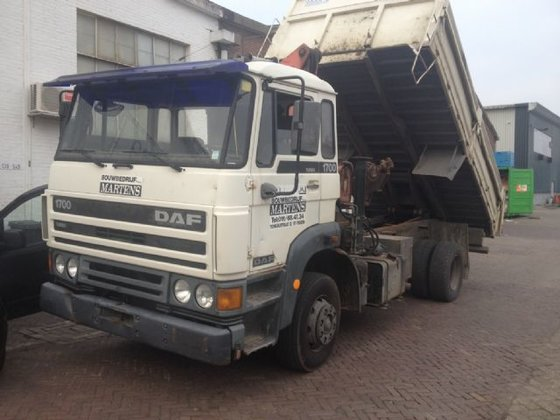 1990 DAF 1700 in Tilburg,
