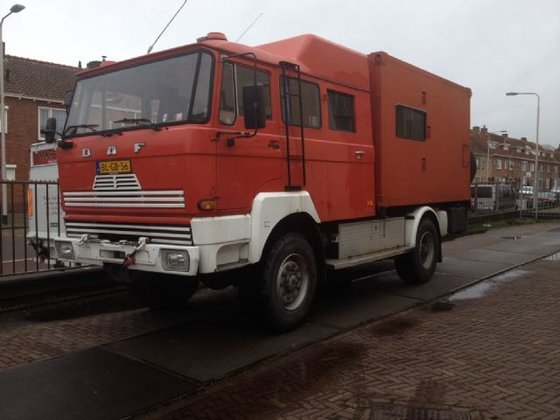 1980 DAF 1800 special in