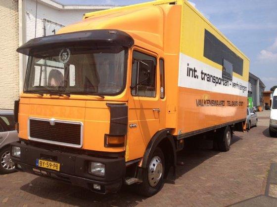 1987 MAN 12-170 in Tilburg,
