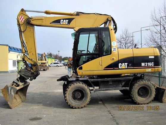 2003 Caterpillar M 316 C