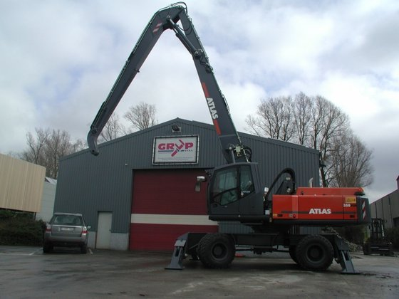 Atlas 350 MH in Zedelgem,