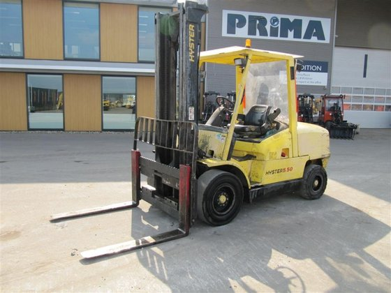 2000 Hyster H5.50XM in Hardenberg,