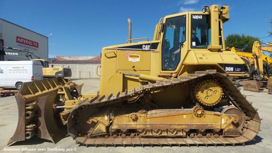 2005 Caterpillar D6N LGP in