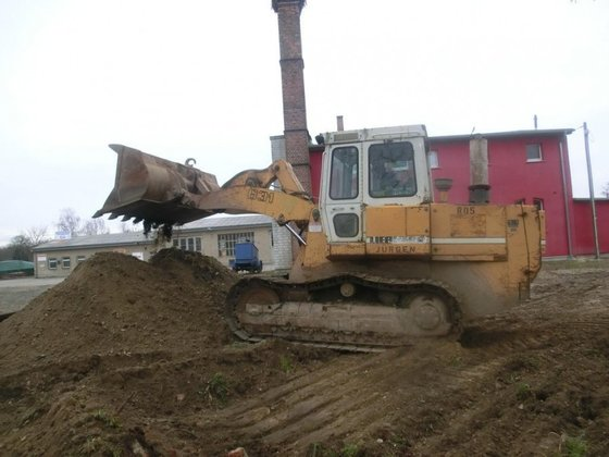 1996 Liebherr LR 631C in