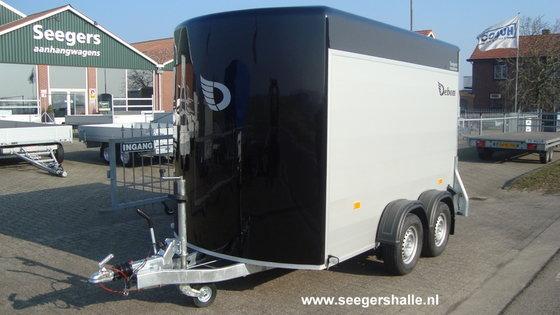 Debon Gesloten aanhangwagen aluminium in