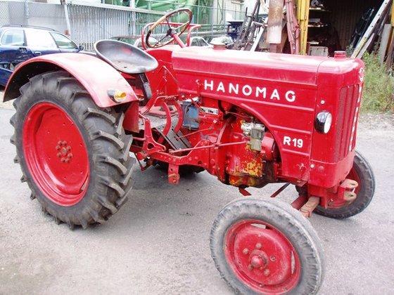 1954 Hanomag R 19 in