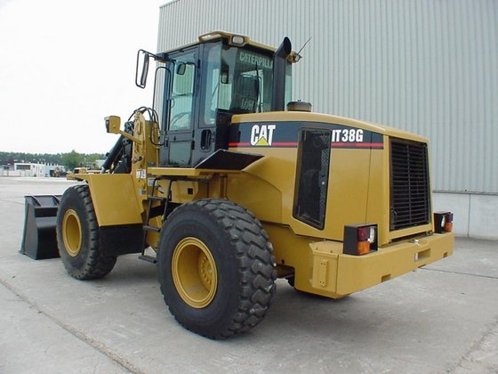 Caterpillar CAT IT38G in Panheel,