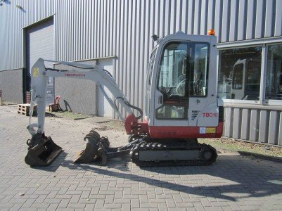 2012 Takeuchi TB016LSA in Maarheeze,