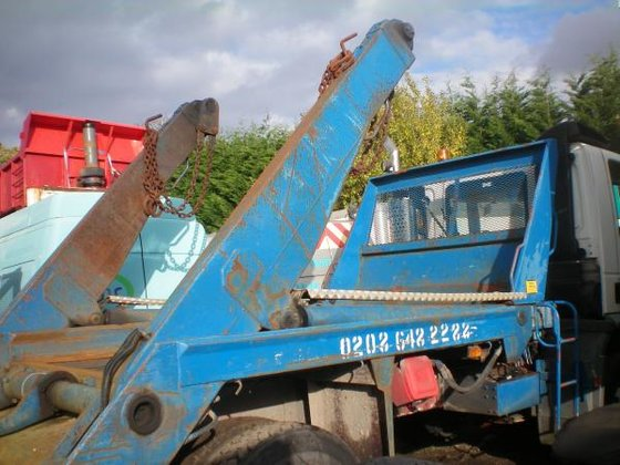 MACLIFT TELESCOPIC SKIP BODY in
