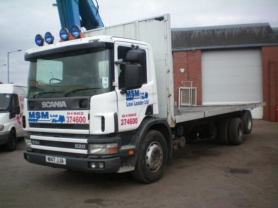 2000 Scania P94 in Willenhall,
