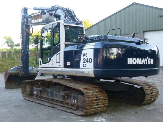 2010 Komatsu pc 240 lc-8